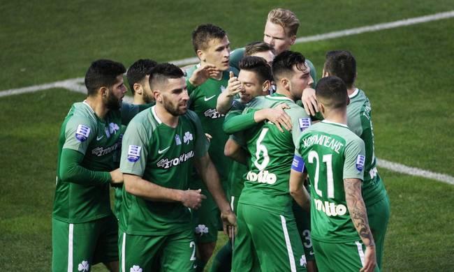 Ξεμπούκωσε ο Παναθηναϊκός 4-0 την Κέρκυρα