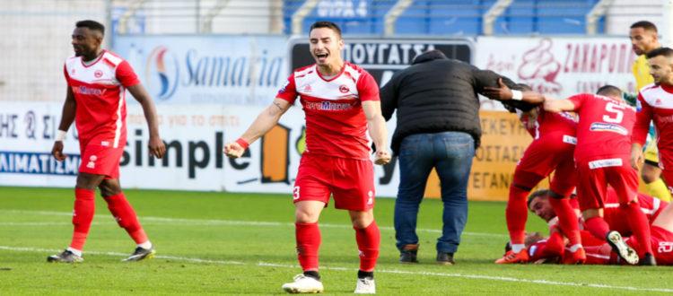 Υπάρχει ακόμα ελπίδα στον Πλατανιά νίκησε 1-0 τον Λεβαδειακό!!!!