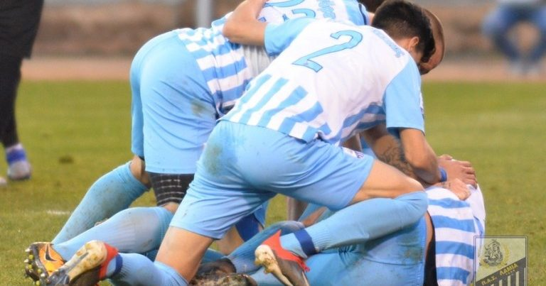 Νίκη με ανατροπή η Λαμία 2-1 τον Ατρόμητο