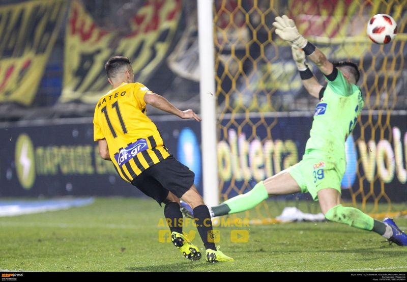 Νίκη πεντάδας ο ΑΡΗΣ 1-0 τον ΠΑΣ Γιαννινα