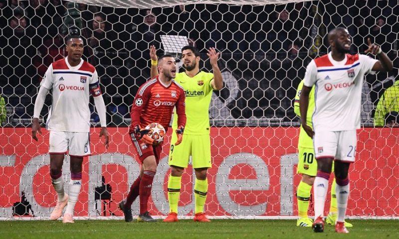 Λευκή ισοπαλία Λιόν – Μπαρτσελόνα 0-0