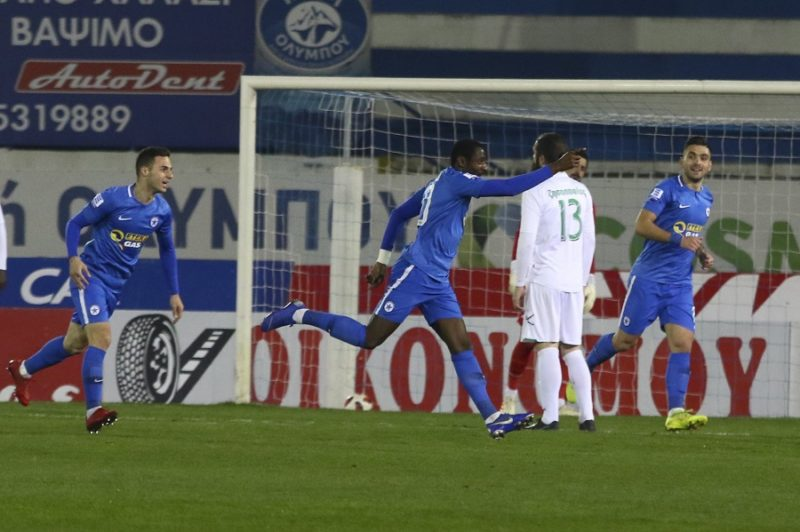 1-0 ο Ατρόμητος τον Λεβαδειακό