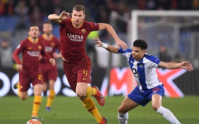 2-1 η Ρόμα την Πόρτο