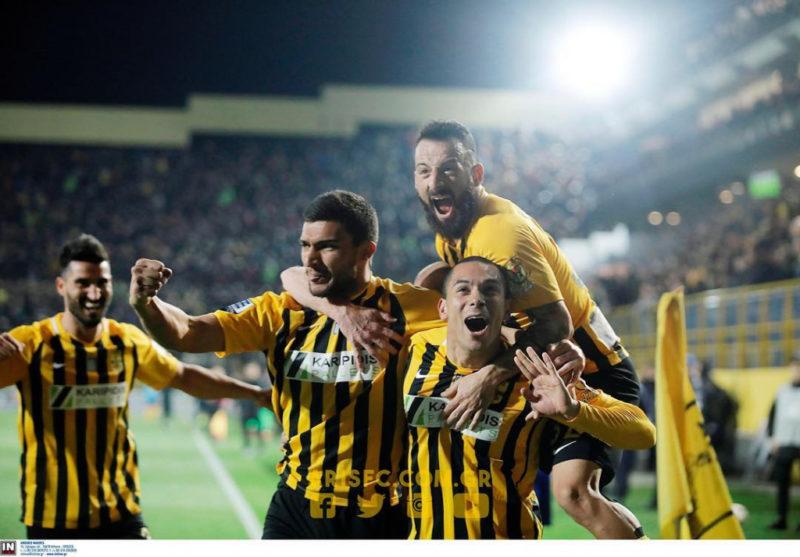 Απόλυτος κυρίαρχος ο ΑΡΗΣ στο ντέρμπι 2-0 την ΑΕΚ