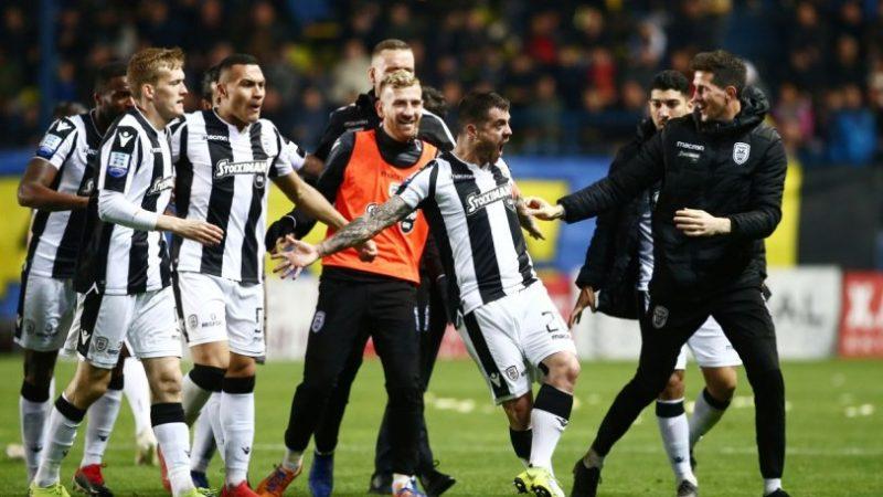 Αγκαλιάζει τίτλο ο ΠΑΟΚ 1-2 τον Παναιτωλικό