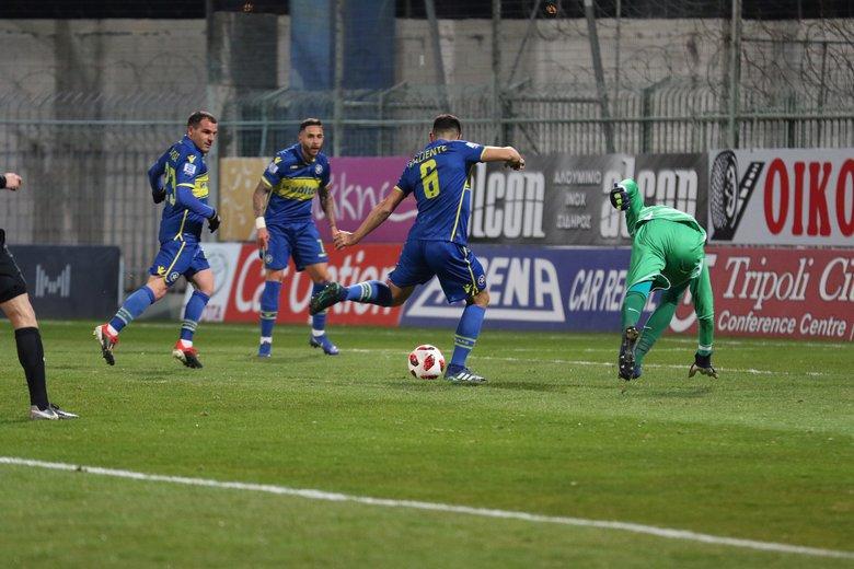 Καλπάζει ο Αστέρας Τρίπολης 3-0 τον Παναιτωλικό