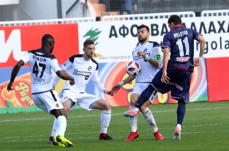 Πάλι χωρίς νίκη ο ΟΦΗ 0-0 με την Λάρισα