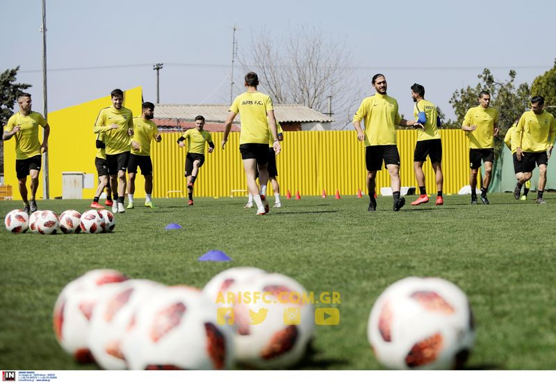 Επανήλθαν στις προπονήσεις οι ποδοσφαιριστές του ΑΡΗ
