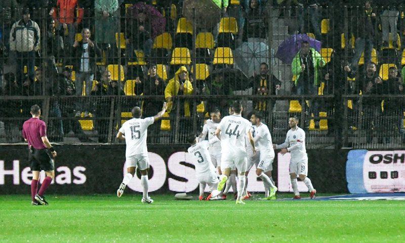 ΑΤΡΟΜΗΤΑΡΑ και στο Βικελίδης 0-2 τον ΑΡΗ!!!