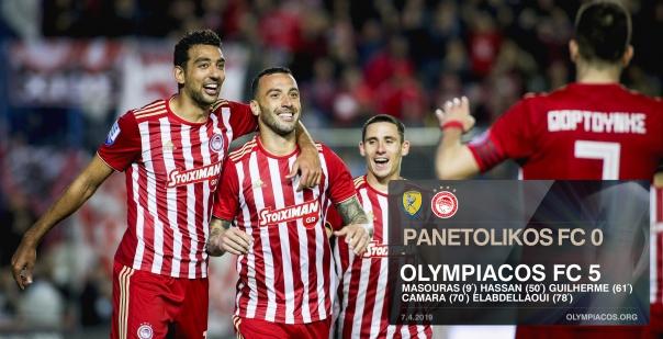 Ακόμα βάζουμε γκολ Ολυμπιακάρα μου 0-5 τον Παναιτωλικό!!!
