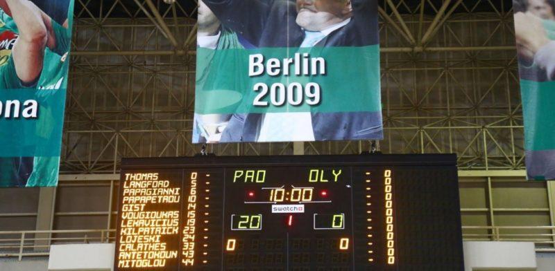 Παναθηναϊκός  – Ολυμπιακός 20-0