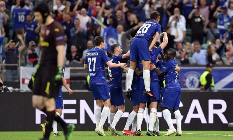 Θρίαμβος της Τσέλσι 4-1 την Άρσεναλ στον τελικό του Europa League!!!