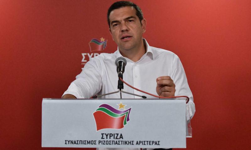 Πρόωρες εκλογές προανήγγειλε ο Τσίπρας μετά την ήττα στις ευρω-κάλπες