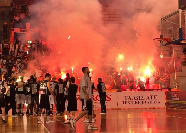 Πανηγύρια και άνοδο στην Β΄ Εθνική ο ΟΦΗ στο μπάσκετ!!!