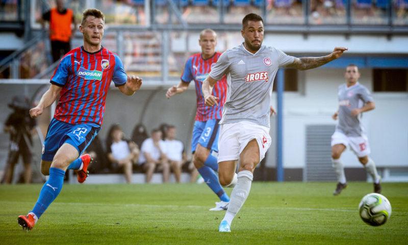 Η πρόκριση στο Καραϊσκάκη για τον Ολυμπιακό μας 0-0 με την Πλζεν στην Τσεχία