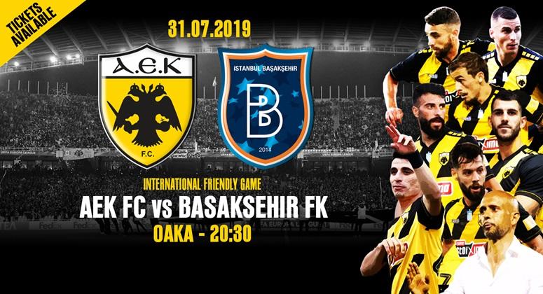 ΑΕΚ: Τα εισιτήρια για τον αγώνα με την Μπασάκσεχιρ