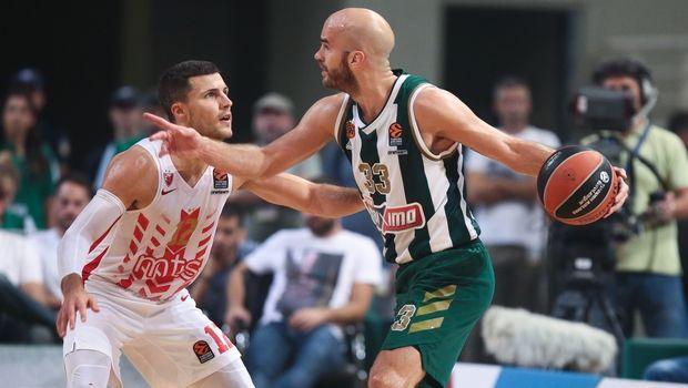 Με το δεξί ο Παναθηναϊκός στην Euroleague νίκησε με τον Ερυθρό Αστέρα 87-82
