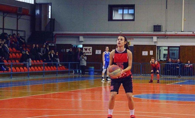 Η μπασκετμπολίστρια του Αετού Καλλιθέας Κωνσταντίνα Γραμματικού αποκλειστικά στο Πάμε Αθλητικά