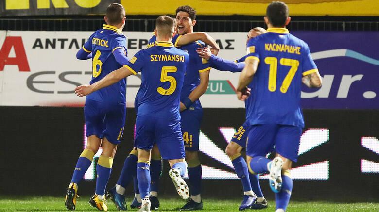 Πέρασε η ΑΕΚ από το Βικελίδης 0-1 τον ΑΡΗ!!!