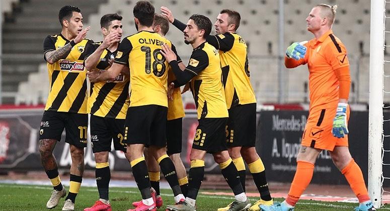 Στους 4 του κυπέλλου η ΑΕΚ 4-0 τον Παναιτωλικό
