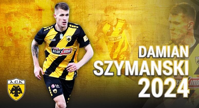 Παίκτης της ΑΕΚ ο Ντάμιαν Σιμάνσκι!