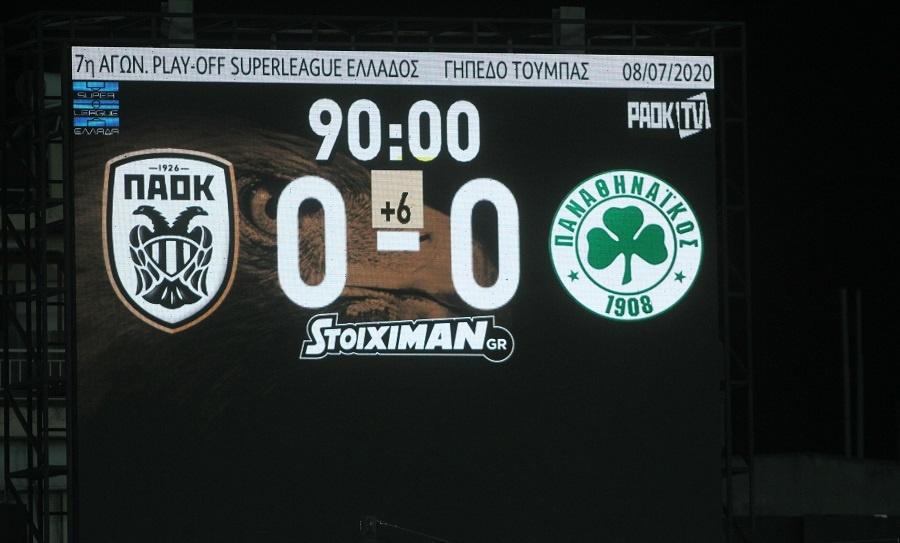 Έχασε δυο ακόμα βαθμούς ο ΠΑΟΚ έμεινε στο 0-0 στην Τούμπα με τον Παναθηναϊκό
