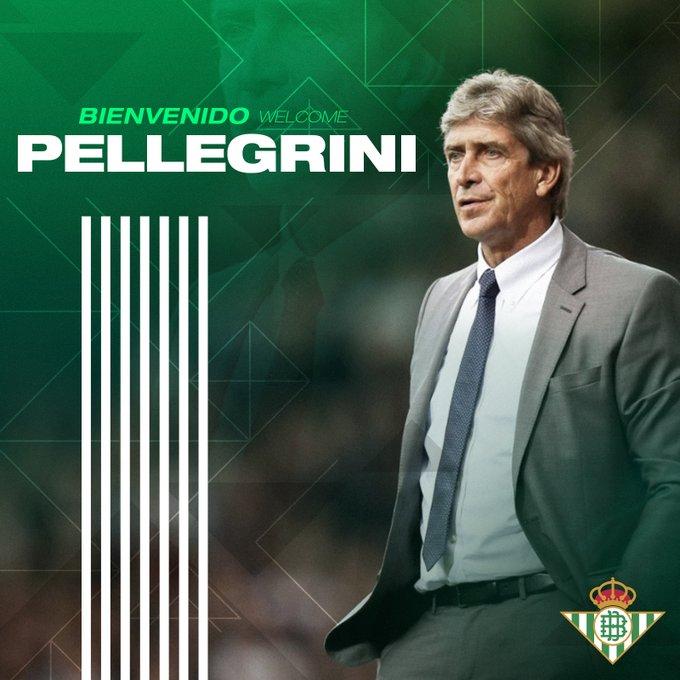 Ο Πελεγκρίνι ο νέος προπονητής της Μπέτις!