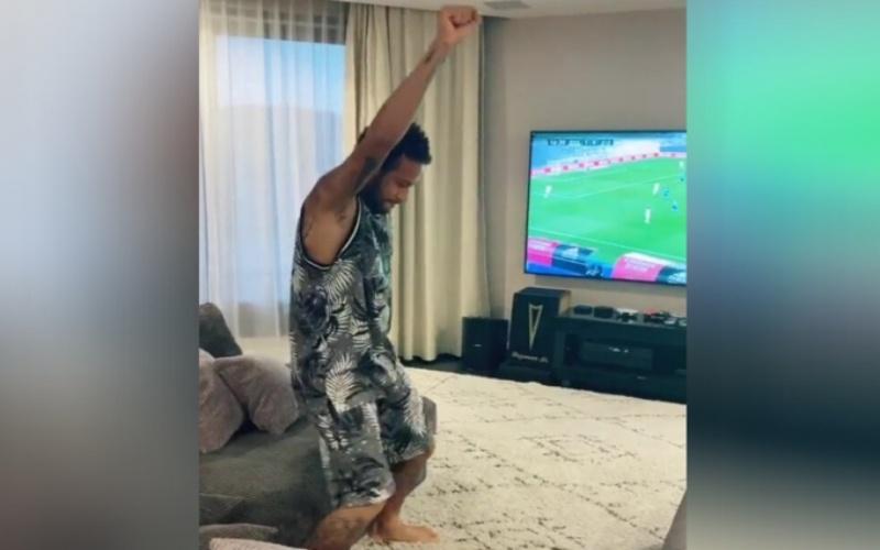 Ο Νεϊμάρ…πανηγυρίζει γκολ της Ρεάλ Μαδρίτης (vid)
