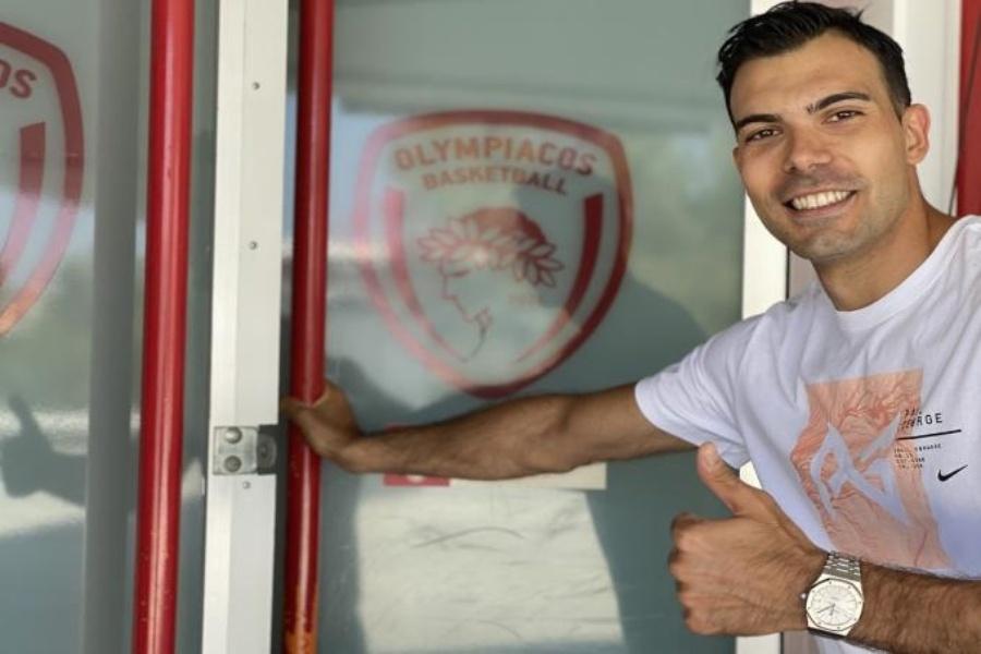 Σλούκας: «Έγινα σκληρός στη Φενέρ, ανυπομονώ να βρεθώ στο παρκέ για τον Ολυμπιακό»