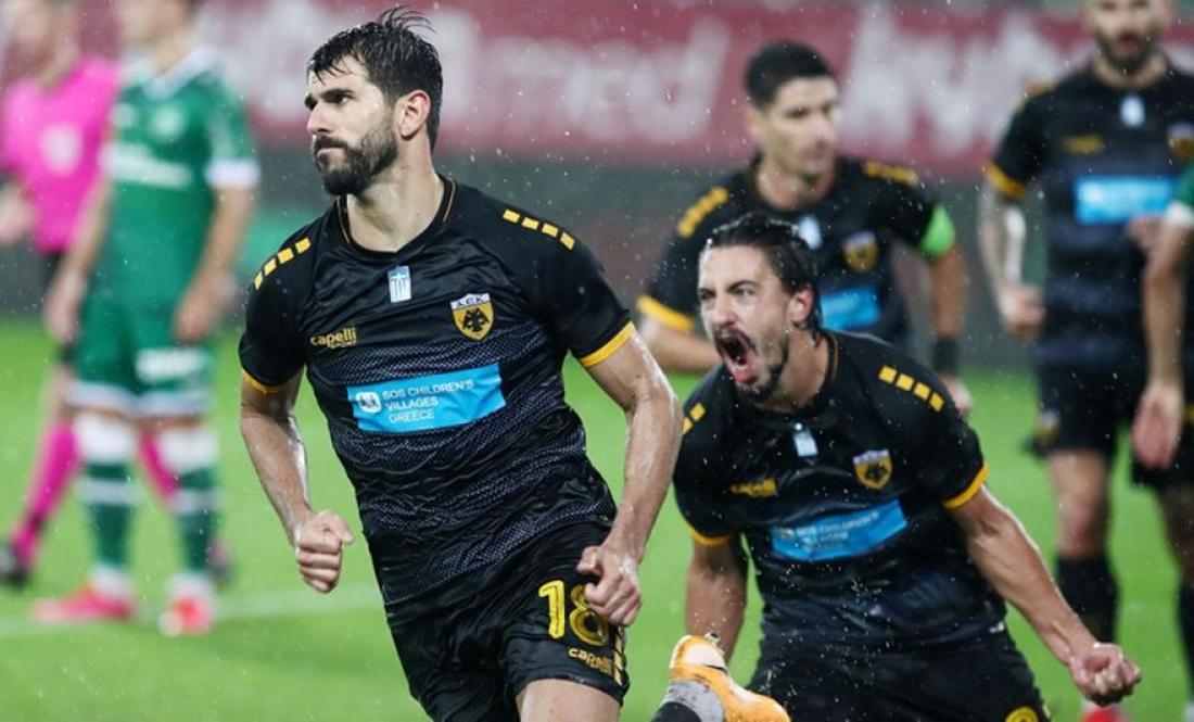 Σεντ Γκάλεν – ΑΕΚ 0-1: O Ολιβέιρα έδωσε την πρόκριση στην «Ένωση»