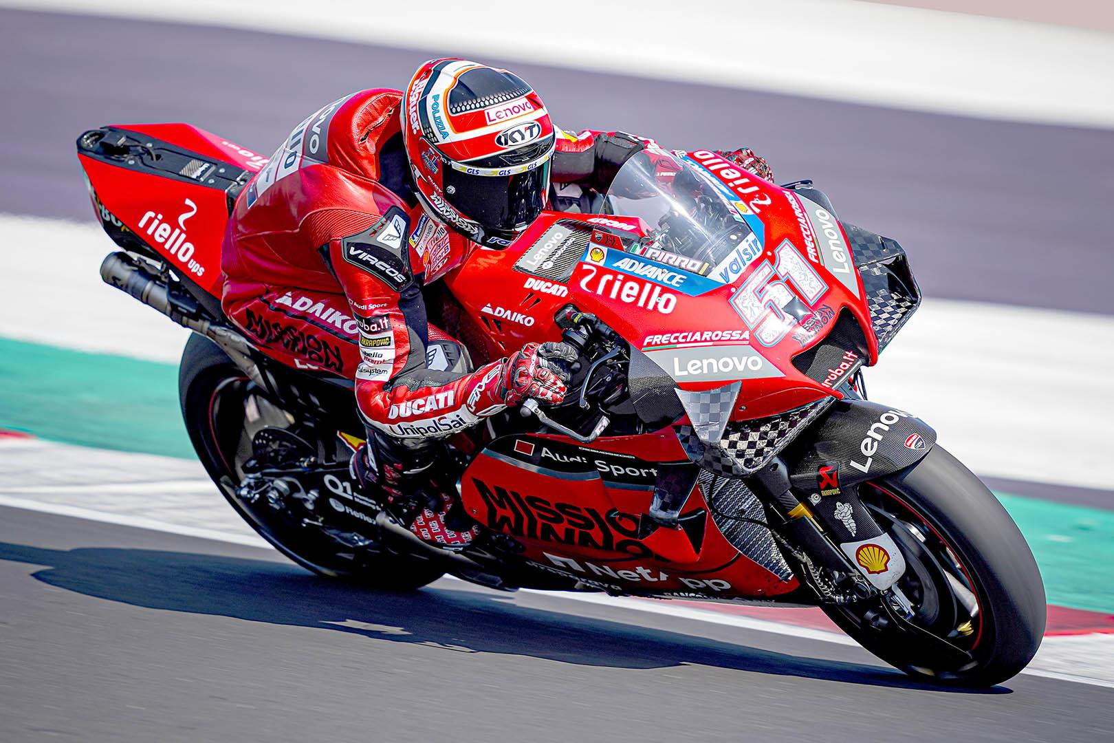 Η Ducati στην κορυφή της τρίτης περιόδου των ελεύθερων δοκιμαστικών