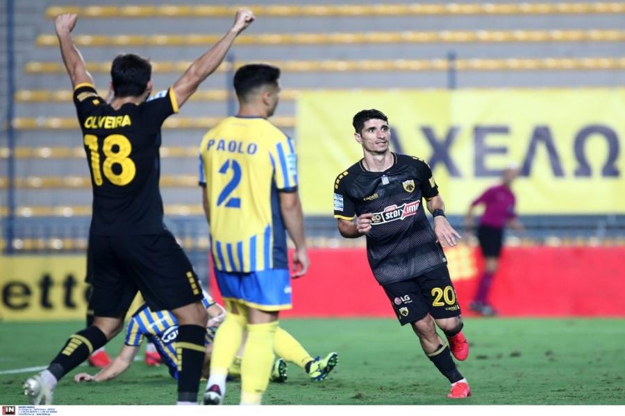 Παναιτωλικός – ΑΕΚ 0-2: Ο Μάνταλος της έδωσε τη νίκη