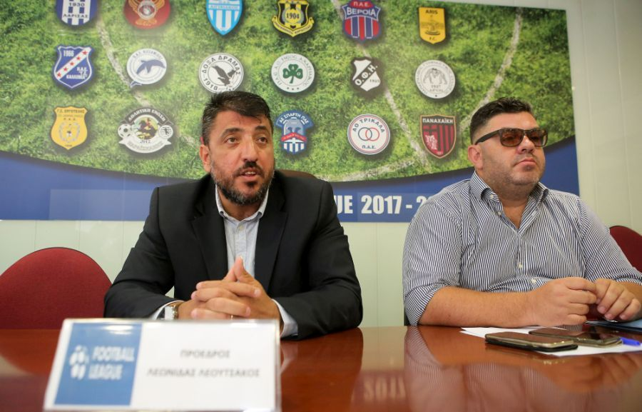 Super League 2-Λεουτσάκος: «Ξεκινάμε 7 Νοεμβρίου και… βλέπουμε»