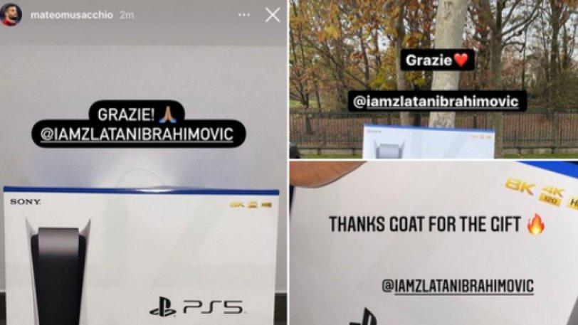 Άγιος …. Ζλάταν έρχεται! PlayStation 5 δώρο στους συμπαίκτες του!