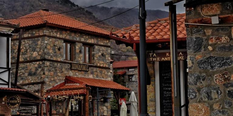 Ενα γραφικό χωριό μια ανάσα από ένα υπέροχο χιονοδρομικό -Μοναδική αρχιτεκτονική, αλπική ομορφιά